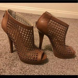 Michael Kors graham heels/booties